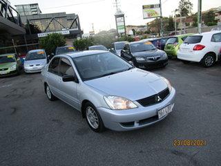 2007 Mitsubishi Lancer CJ ES Silver 5 Speed Manual Sedan.