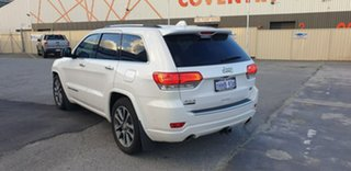 2018 Jeep Grand Cherokee WK MY18 Overland White 8 Speed Sports Automatic Wagon