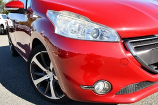 2013 Peugeot 208 A9 MY13 Allure Premium Red 4 Speed Automatic Hatchback.