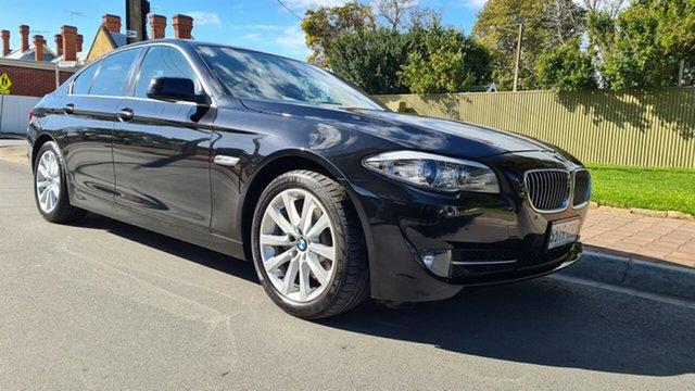 Used BMW 520d F10 MY12 Prospect, 2011 BMW 520d F10 MY12 Santorini Black 8 Speed Automatic Sedan