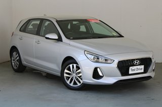 2019 Hyundai i30 PD2 MY20 Active Platinum Silver 6 Speed Sports Automatic Hatchback.