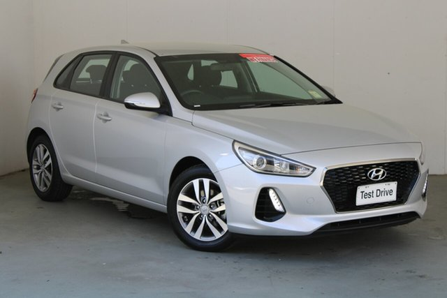 Used Hyundai i30 PD2 MY20 Active Phillip, 2019 Hyundai i30 PD2 MY20 Active Platinum Silver 6 Speed Sports Automatic Hatchback