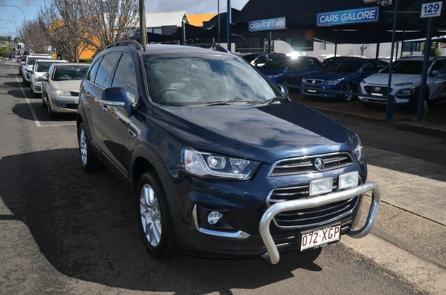 Used Holden Captiva CG MY17 Active 5 Seater Toowoomba, 2016 Holden Captiva CG MY17 Active 5 Seater Blue 6 Speed Automatic Wagon