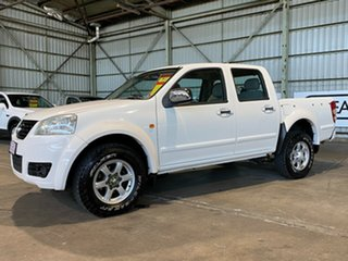 2011 Great Wall V240 K2 MY11 White 5 Speed Manual Utility.