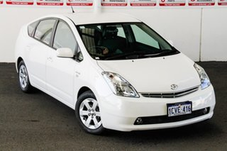 2008 Toyota Prius NHW20R MY06 Upgrade I-Tech (Hybrid) Glacier White Continuous Variable Hatchback.