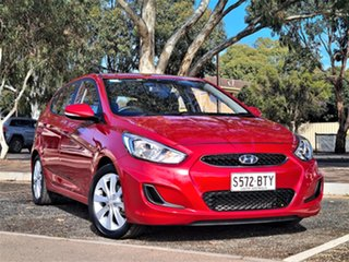 2017 Hyundai Accent RB5 MY17 Sport Red 6 Speed Sports Automatic Hatchback.