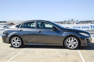 2010 Mazda 6 GH1052 MY10 Luxury Sports Grey 5 Speed Sports Automatic Hatchback.