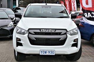 2020 Isuzu D-MAX RG MY21 SX Crew Cab White 6 Speed Sports Automatic Utility.