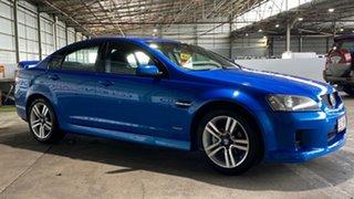 2010 Holden Commodore VE MY10 SV6 Blue 6 Speed Sports Automatic Sedan.