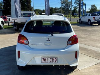 2021 Mitsubishi Mirage LB MY22 ES White 1 Speed Constant Variable Hatchback