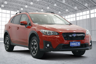 2018 Subaru XV G5X MY19 2.0i Premium Lineartronic AWD Red 7 Speed Constant Variable Wagon.