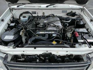 2002 Toyota Landcruiser Prado VZJ95R VX White 4 Speed Automatic Wagon