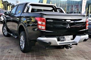 2016 Mitsubishi Triton MQ MY16 GLS Double Cab Black 6 Speed Manual Utility