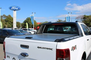 2016 Ford Ranger PX MkII Wildtrak Double Cab White 6 Speed Sports Automatic Utility