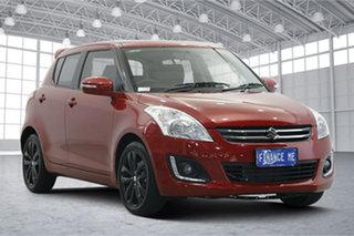 2016 Suzuki Swift FZ MY15 GLX Navigator Red 4 Speed Automatic Hatchback.