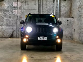 2015 Jeep Renegade BU MY16 Trailhawk AWD Black 9 Speed Sports Automatic Hatchback.