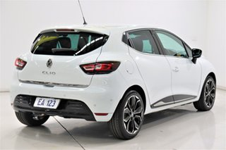 2017 Renault Clio IV B98 Phase 2 Intens EDC White 6 Speed Sports Automatic Dual Clutch Hatchback