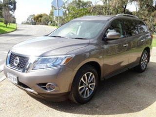 2013 Nissan Pathfinder R52 MY14 ST X-tronic 2WD Grey 1 Speed Constant Variable Wagon.