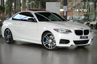 2019 BMW 2 Series F22 LCI M240I White 8 Speed Sports Automatic Coupe.