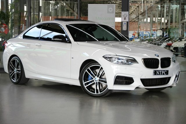 Used BMW 2 Series F22 LCI M240I North Melbourne, 2019 BMW 2 Series F22 LCI M240I White 8 Speed Sports Automatic Coupe