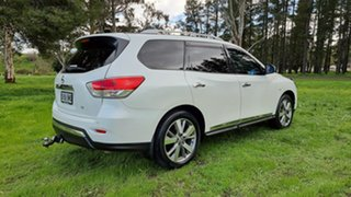 2016 Nissan Pathfinder R52 Series II MY17 Ti X-tronic 2WD White 1 Speed Constant Variable Wagon