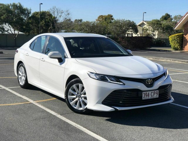 Used Toyota Camry ASV70R Ascent Chermside, 2020 Toyota Camry ASV70R Ascent White 6 Speed Sports Automatic Sedan
