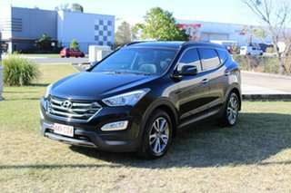 2013 Hyundai Santa Fe DM MY13 Elite Black 6 Speed Sports Automatic Wagon.