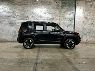 2015 Jeep Renegade BU MY16 Trailhawk AWD Black 9 Speed Sports Automatic Hatchback