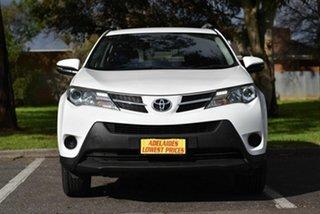 2015 Toyota RAV4 ALA49R MY14 GX AWD White 6 Speed Sports Automatic Wagon.
