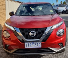 2020 Nissan Juke F16 ST-L DCT 2WD Red 7 Speed Sports Automatic Dual Clutch Hatchback.