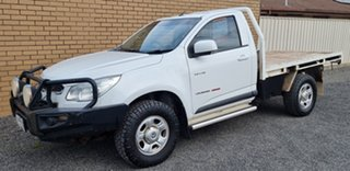 2013 Holden Colorado RG MY14 LX White 6 Speed Sports Automatic Cab Chassis.