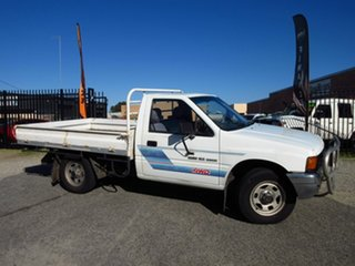1989 Holden Rodeo TF DLX (4x4) White 5 Speed Manual 4x4 Cab Chassis.