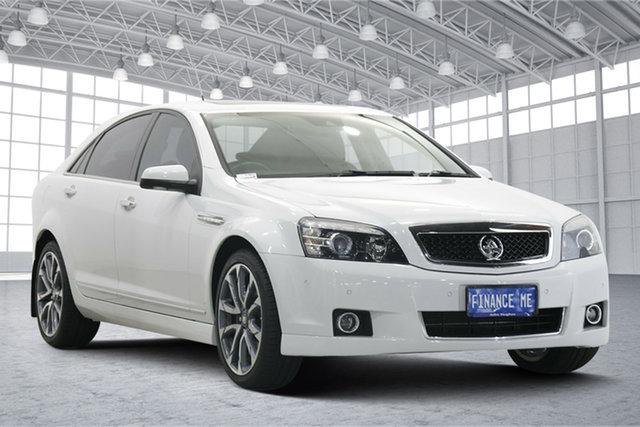 Used Holden Caprice WN II MY17 V Victoria Park, 2017 Holden Caprice WN II MY17 V White 6 Speed Sports Automatic Sedan