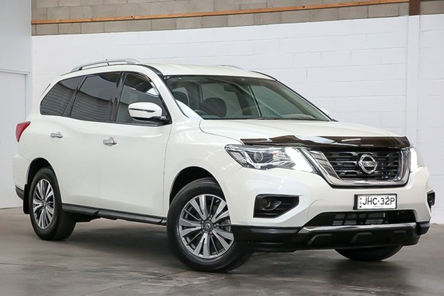 Used Nissan Pathfinder R52 Series II MY17 ST X-tronic 2WD Erina, 2017 Nissan Pathfinder R52 Series II MY17 ST X-tronic 2WD White 1 Speed Constant Variable Wagon