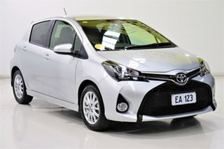 2016 Toyota Yaris NCP131R ZR Silver 4 Speed Automatic Hatchback