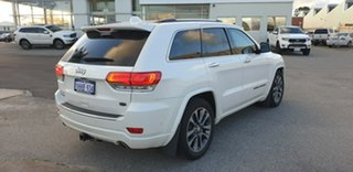 2018 Jeep Grand Cherokee WK MY18 Overland White 8 Speed Sports Automatic Wagon.