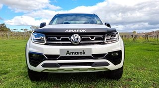 2021 Volkswagen Amarok 2H MY21 TDI580 4MOTION Perm W580 Candy White 8 Speed Automatic Utility.