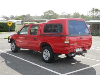 1999 Holden Rodeo LX (4x4) Red Manual Crewcab