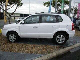 2007 Hyundai Tucson SX White 5 Speed Automatic Wagon