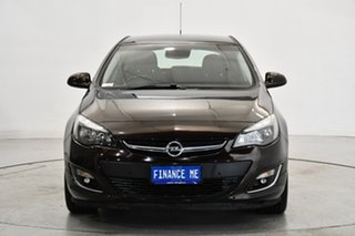 2013 Opel Astra AS Burgundy 6 Speed Sports Automatic Hatchback.