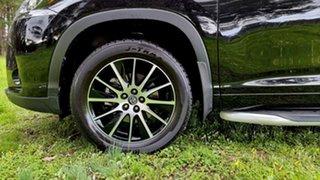 2017 Toyota Kluger GSU50R Grande 2WD Black/Grey 8 Speed Sports Automatic Wagon