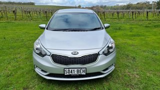 2014 Kia Cerato YD MY15 S Premium Silky Silver 6 Speed Sports Automatic Hatchback.