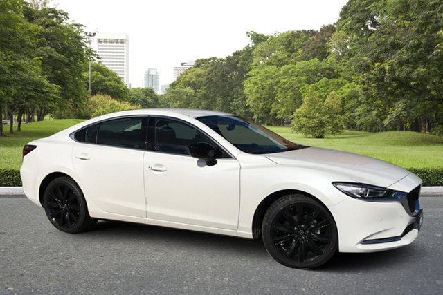 Demo Mazda 6 GL1033 GT SP SKYACTIV-Drive Paradise, 2021 Mazda 6 GL1033 GT SP SKYACTIV-Drive White Pearl 6 Speed Sports Automatic Sedan