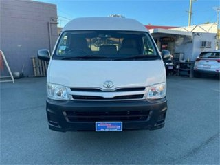 2012 Toyota HiAce KDH221R MY12 Upgrade SLWB White 4 Speed Automatic Van
