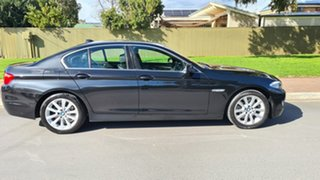 2011 BMW 520d F10 MY12 Santorini Black 8 Speed Automatic Sedan.
