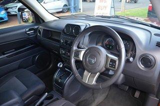 2012 Jeep Patriot MK MY12 Sport (4x2) Orange 6 Speed CVT Auto Sequential Wagon
