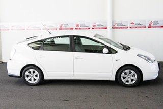 2008 Toyota Prius NHW20R MY06 Upgrade I-Tech (Hybrid) Glacier White Continuous Variable Hatchback
