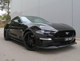 2018 Ford Mustang FN 2018MY GT Fastback SelectShift Black 10 Speed Sports Automatic Fastback.