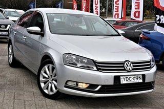 2015 Volkswagen Passat Type 3C MY15 118TSI DSG Special Model Silver 7 Speed.