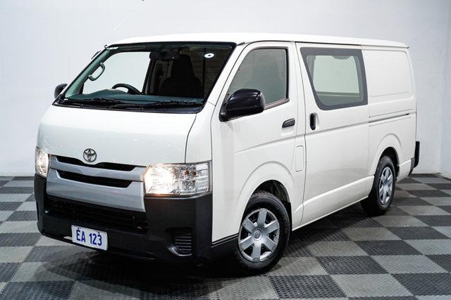 Used Toyota HiAce KDH201R LWB Edgewater, 2017 Toyota HiAce KDH201R LWB White 4 Speed Automatic Van